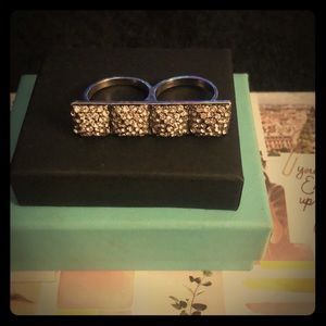 Jewelry - Glam Double Ring 💎💎